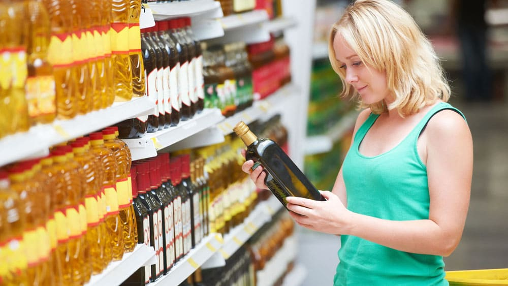 Покупка оливкового масла