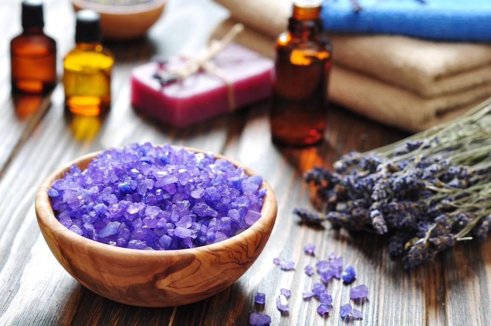 Соль с эфирными маслами