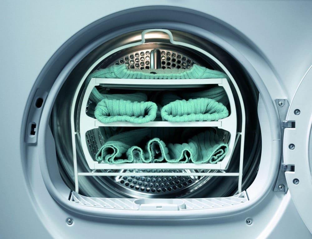 Сушка вещей в стиральной машинке