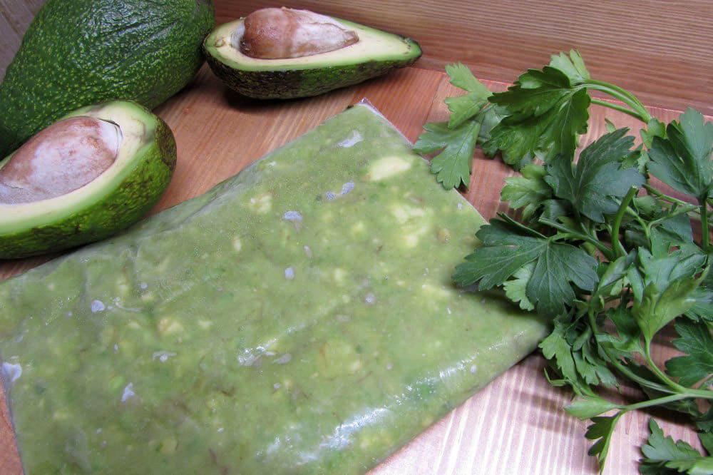 Пюре авокадо