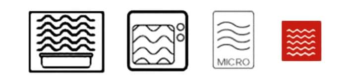 Маркировка для микроволновки