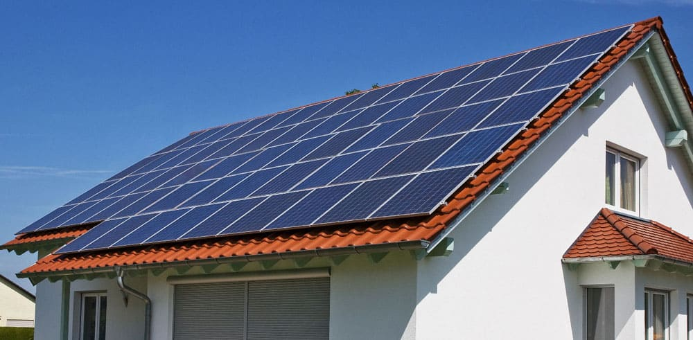 Солнцезащитные батареи на крыше