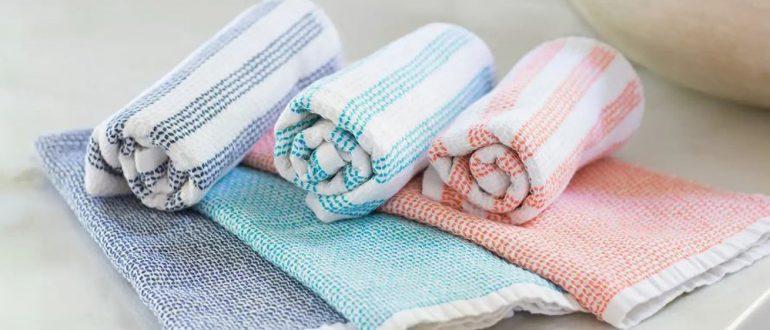 Как стирать кухонные полотенца в домашних условиях
