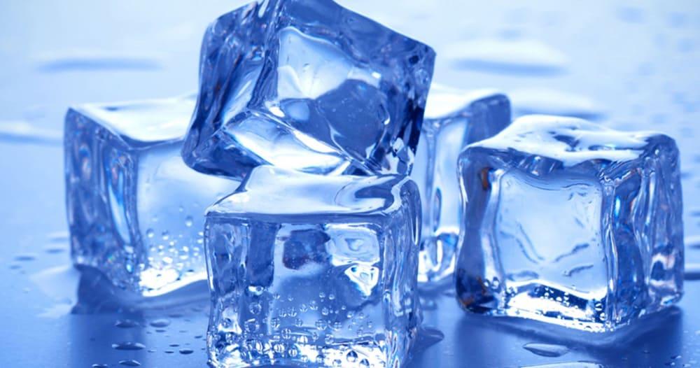 Вода после заморозки