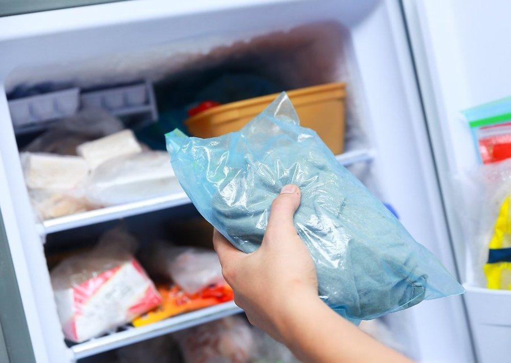 Замораживание одежды