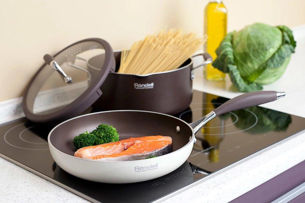 Готовка на сковороде