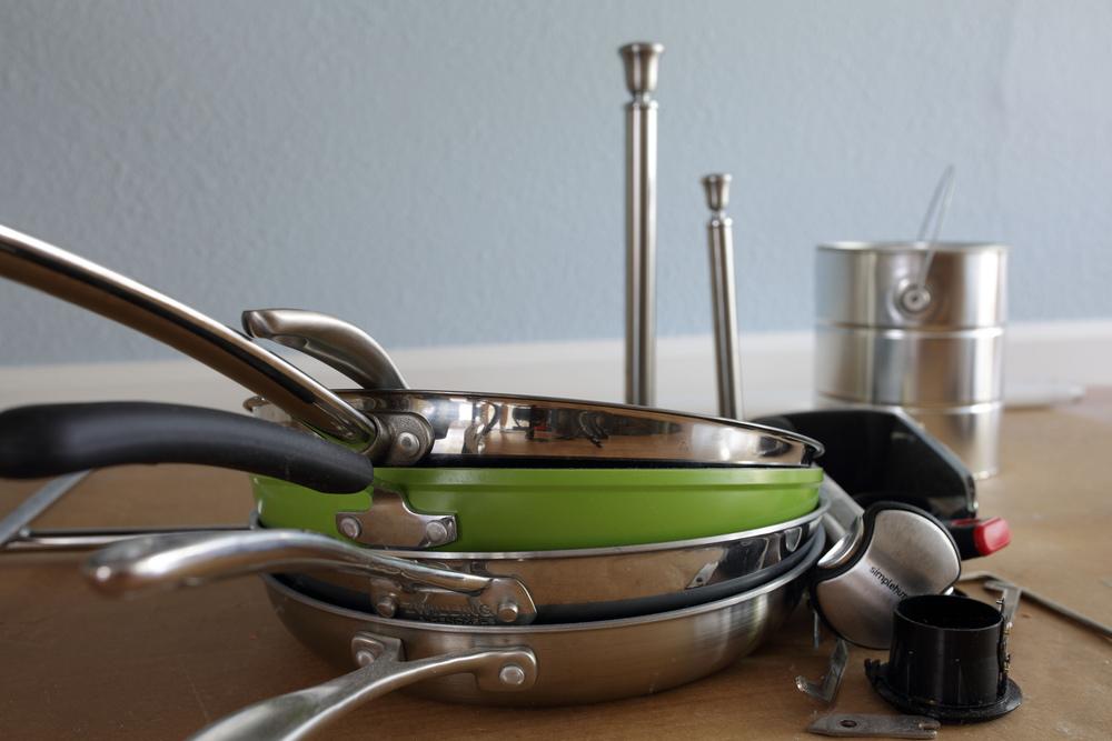 Разные виды сковородок