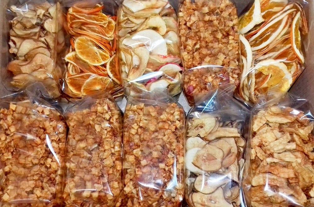 Сухофрукты в пакетах