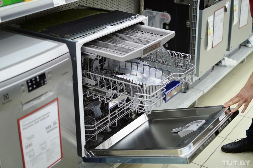 Как устроена посудомойка