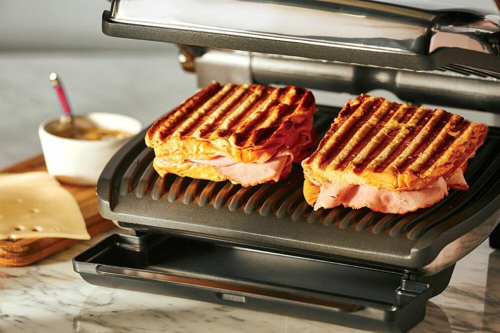 Сендвичи на электрогриле
